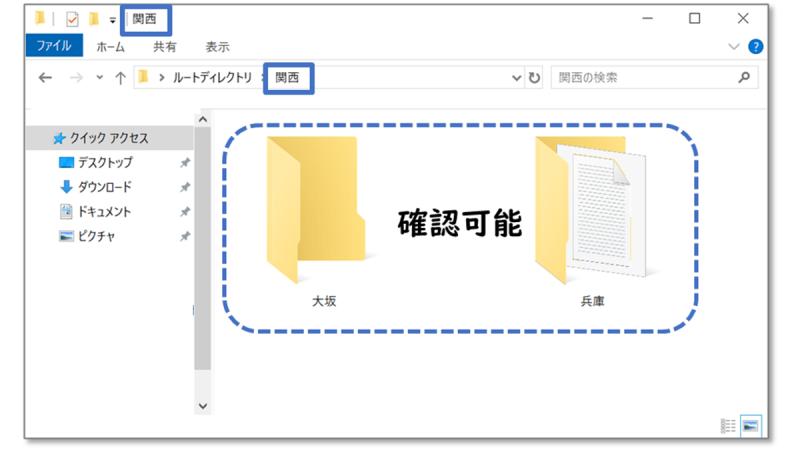 Windowsのカレントディレクトリ
