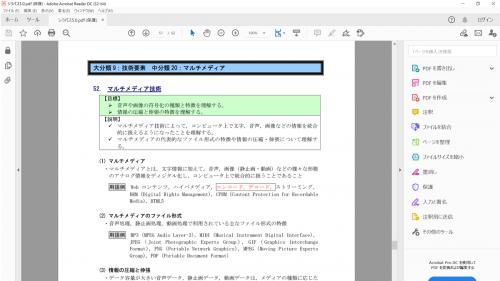 PDFの例