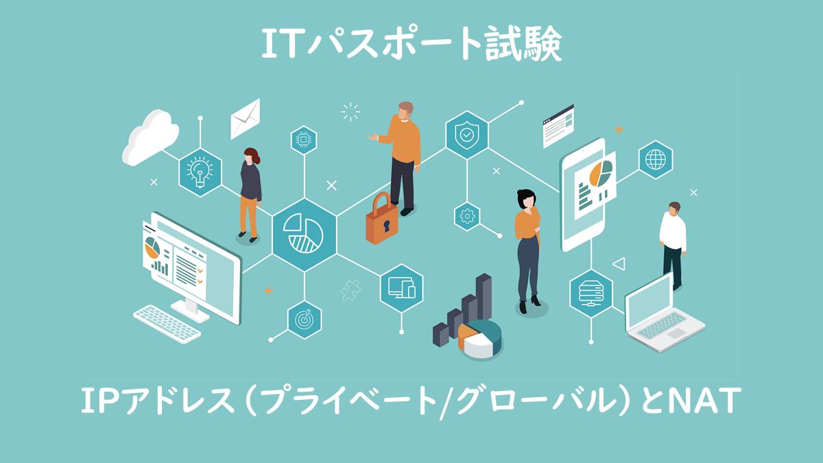 IPアドレス(プライべート、グローバル)とNAT
